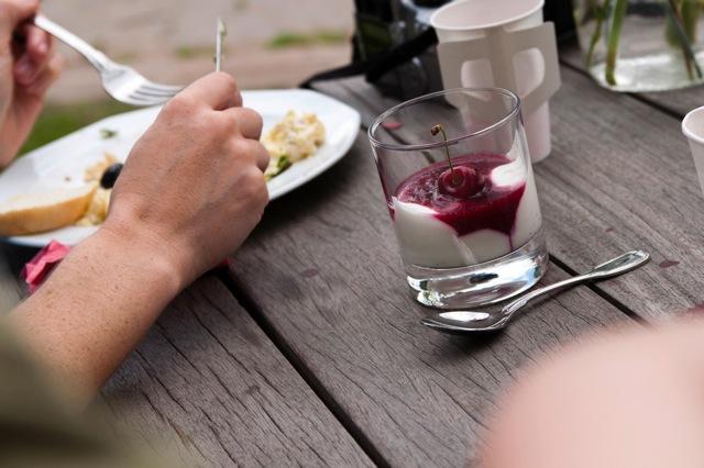 Köstlichkeiten und Picknick-Laune überall