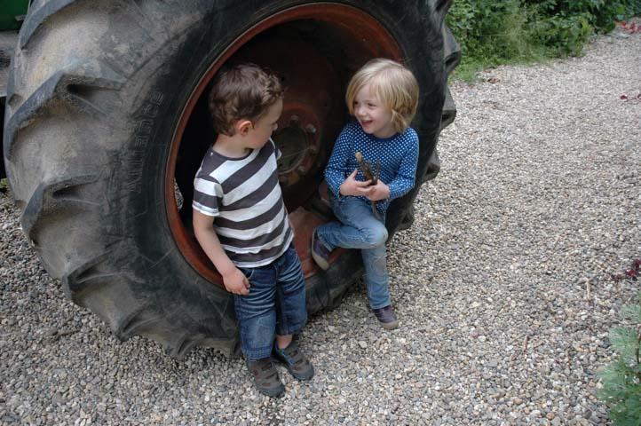 Viel Platz für die Kinder und jede Menge zu entdecken