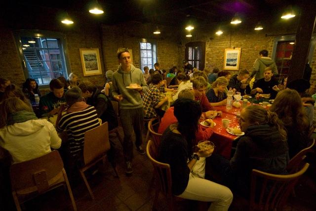 Die Esssäle - Tischgemeinschaft in gemütlicher Atmosphäre
